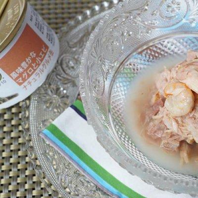 画像1: フォルツァ10(FORZA10) キャットフード プレミアムナチュラルグルメ缶 風味豊かな マグロと小エビ 75g